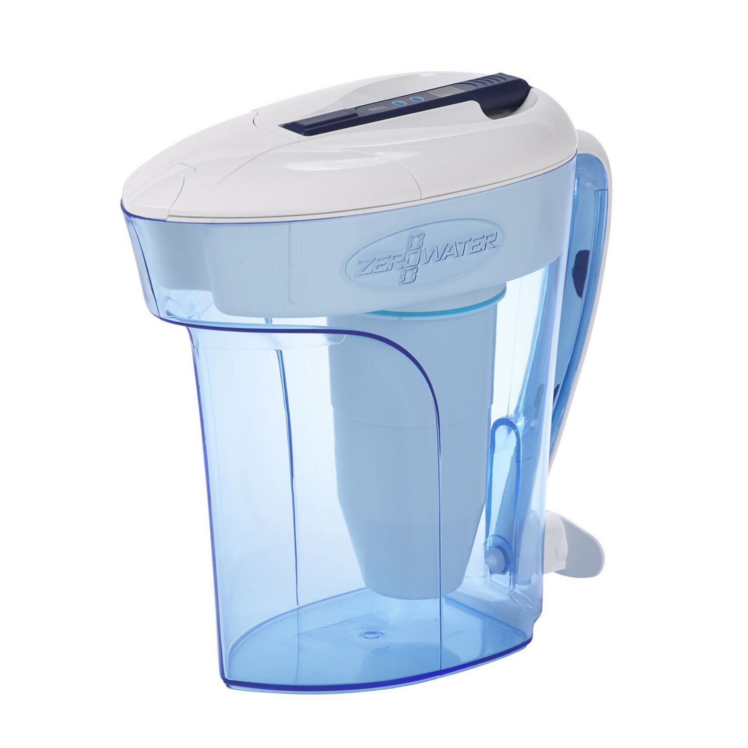 Zerowater 12 Cup Ready Pour Pitcher With Free Tds Meter Walmart
