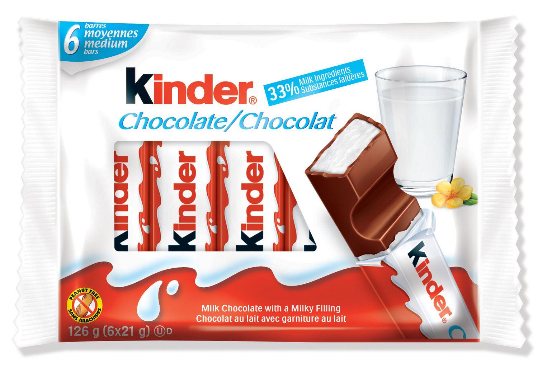 Kinder Medium Milk Chocolate Bars   Walmart.ca