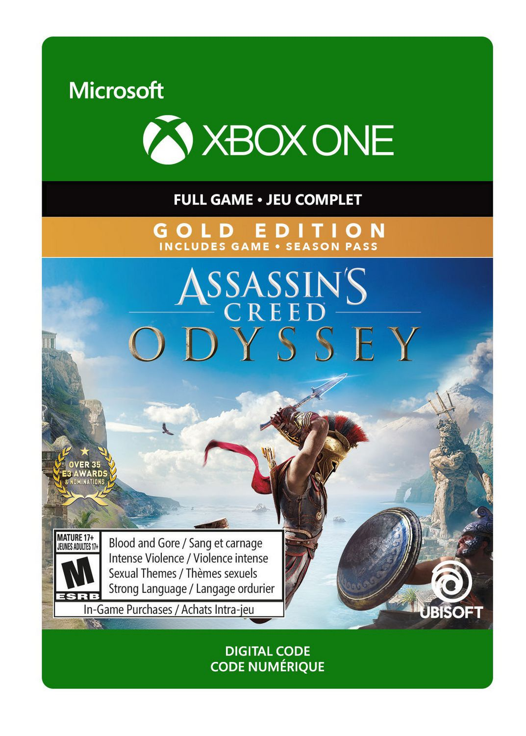 Xbox One Assassin's Creed Odyssey: Gold Edition [Download