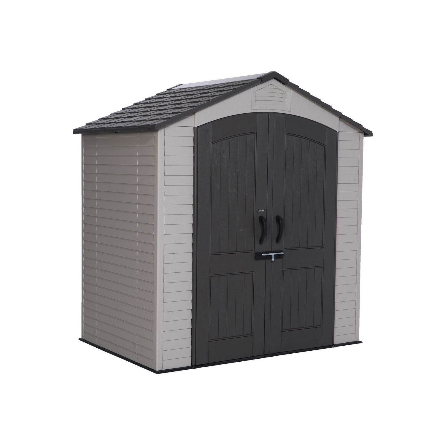 shed outdoor cu suncast site ft vertical sheds storage