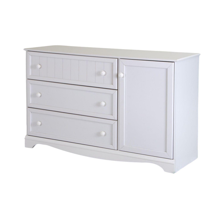 south shore savannah drawer dresser with door  walmartca -