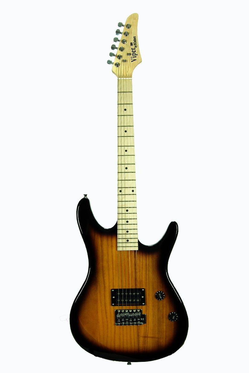 bridgecraft viper full sized electric maple guitar and. Black Bedroom Furniture Sets. Home Design Ideas