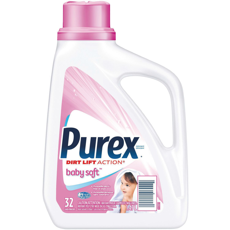 Purex Baby Soft Dirt Lift Action Laundry Liquid Walmart Canada