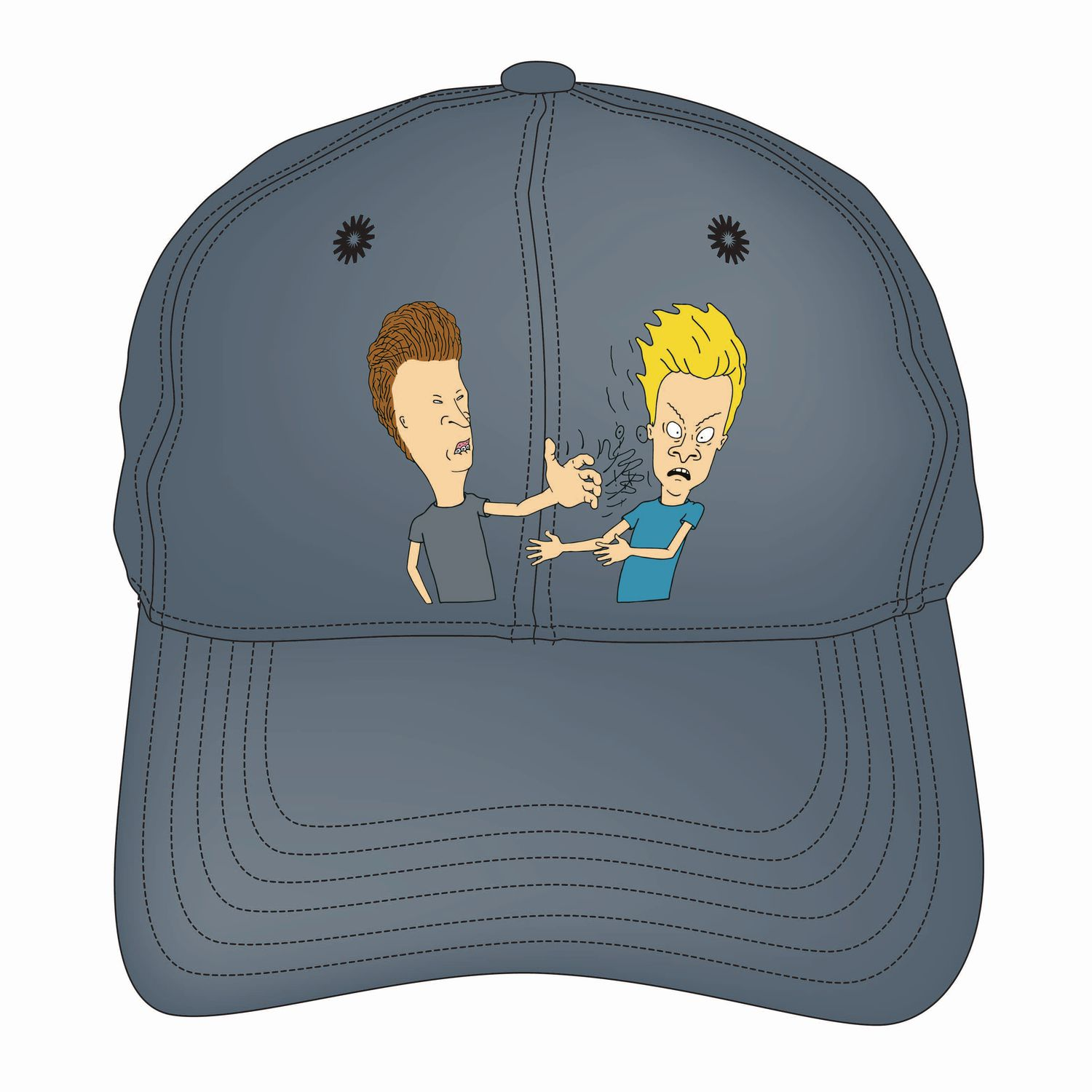 a7dacb61a40 Beavis   Butthead Bevis And Butthead Men s Embroidered Logo