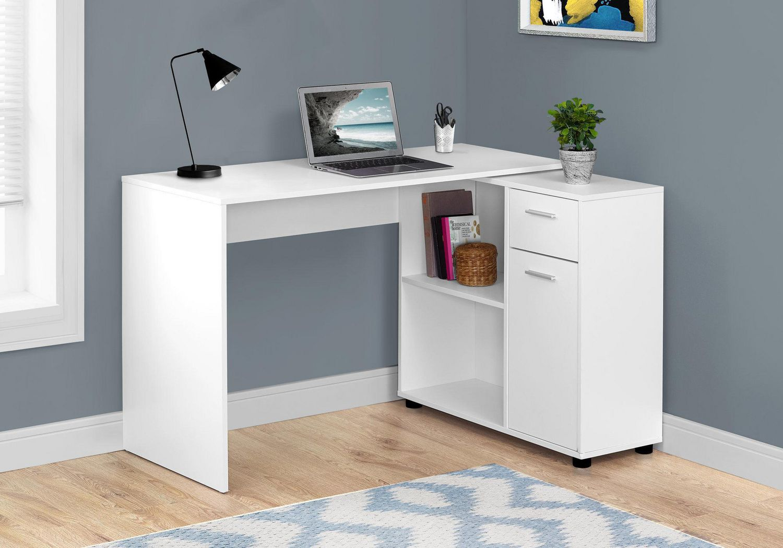 Peachy Monarch Specialties Inc Monarch Specialties White Office Desk Home Interior And Landscaping Pimpapssignezvosmurscom