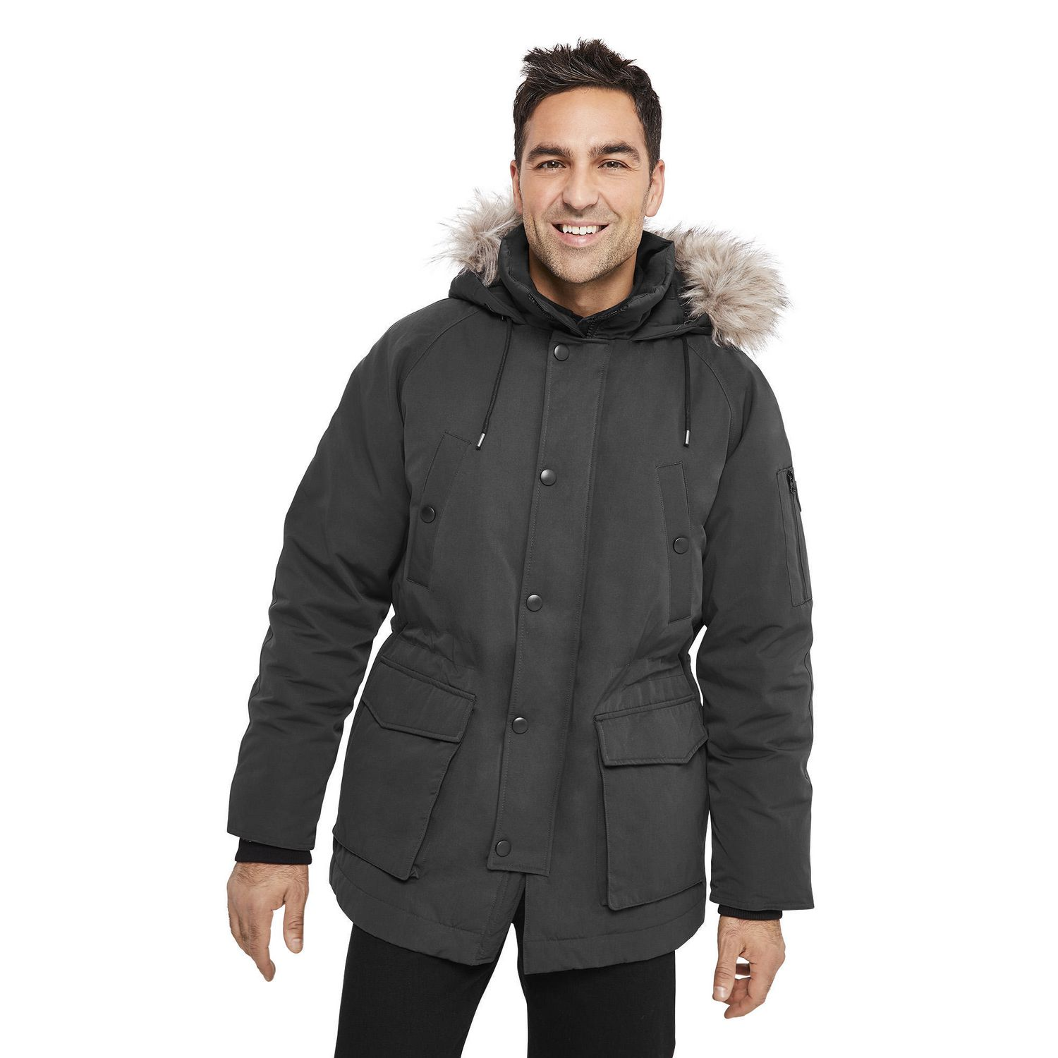 cd21b2349 Canadiana Men's Parka Jacket | Walmart Canada