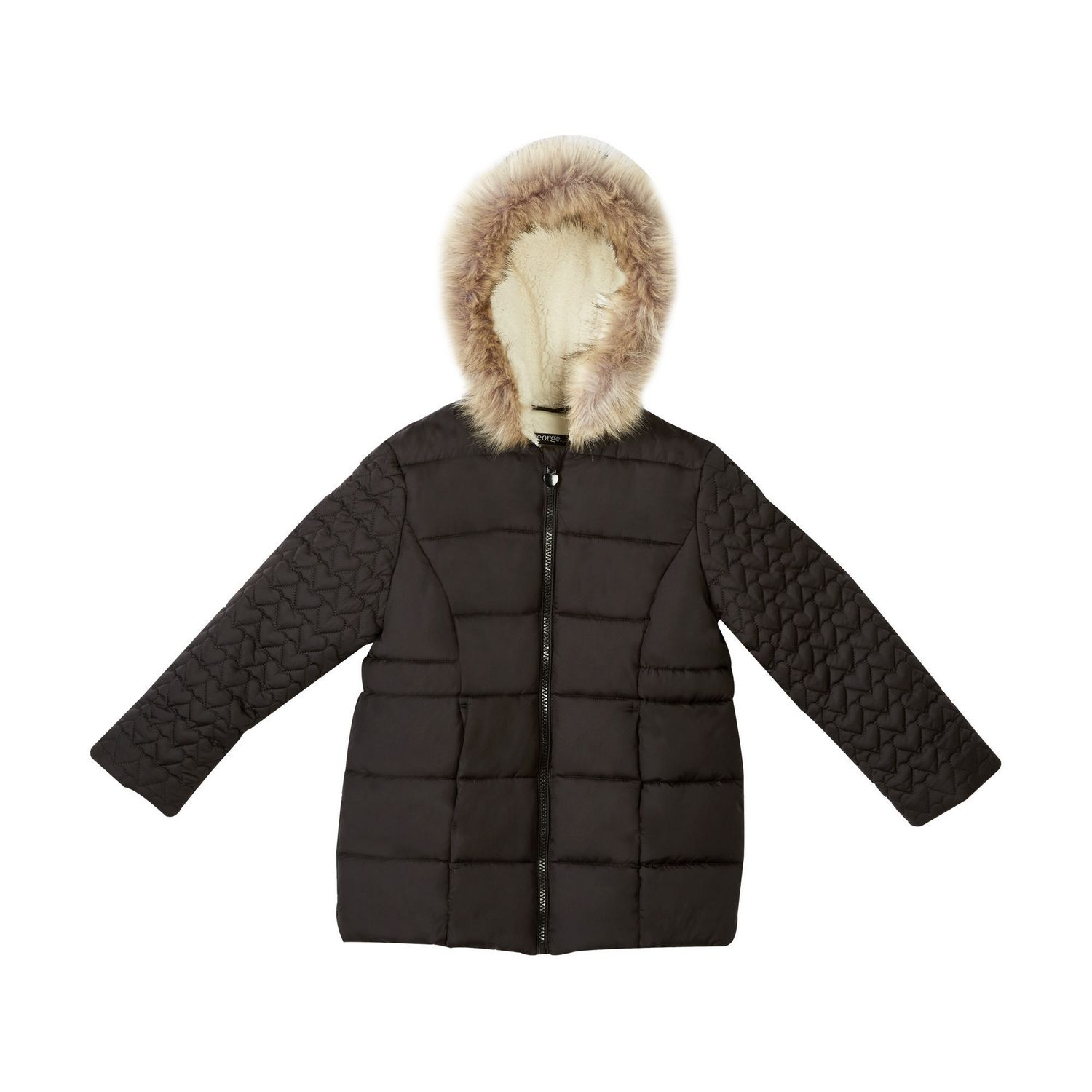 ab3524c76 George Girls' Quilted Puffer Jacket | Walmart Canada