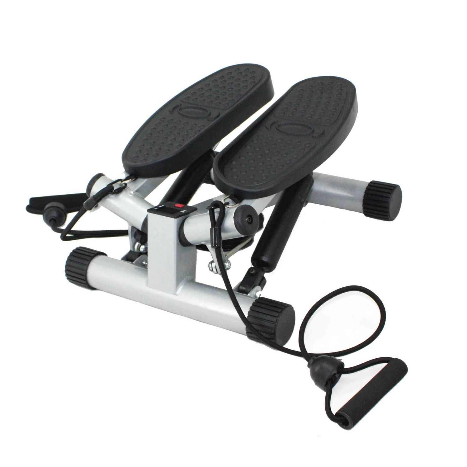 Sunny Health U0026 Fitness Twisting Stair Stepper With Resistance Bands