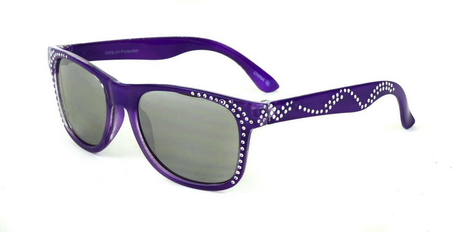Kids Sunglasses Purple Wayfarer George eWEYD92bHI