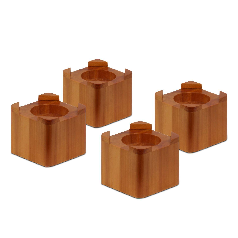 honeycando wood bed lifts  walmartca -