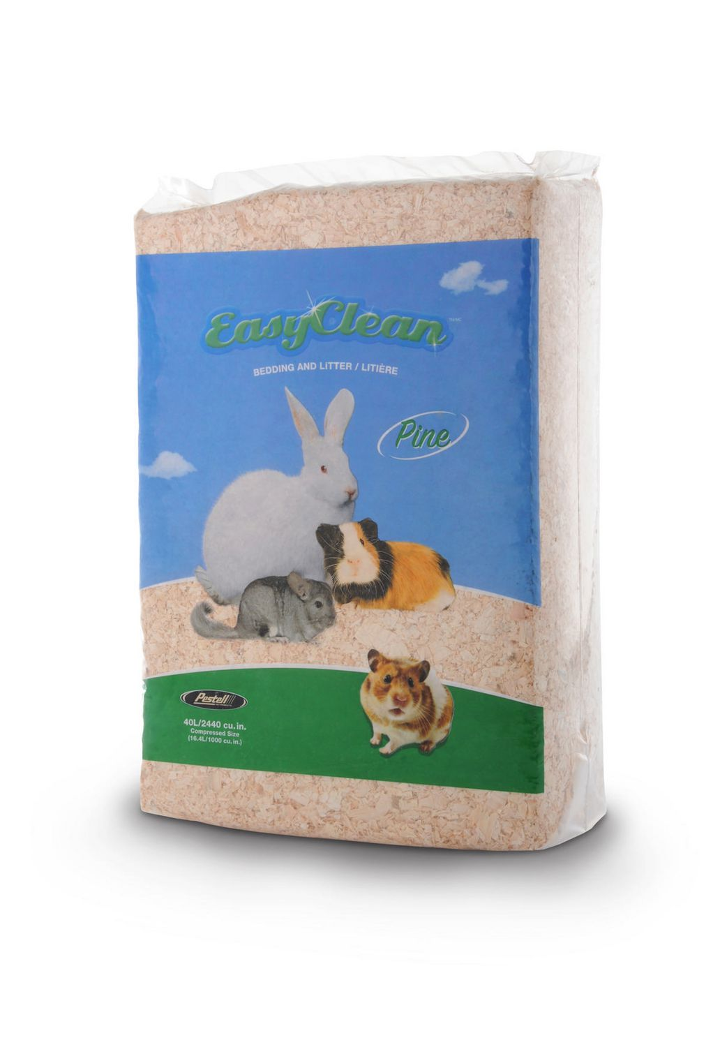 Pestell Easy Clean Pine Bedding & Litter   20L/2420 cu.in.