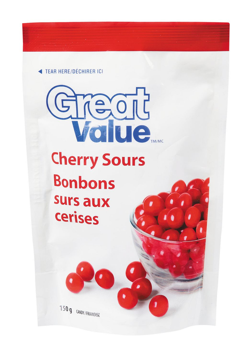 Great Value Cherry Sours Candy Walmart Canada