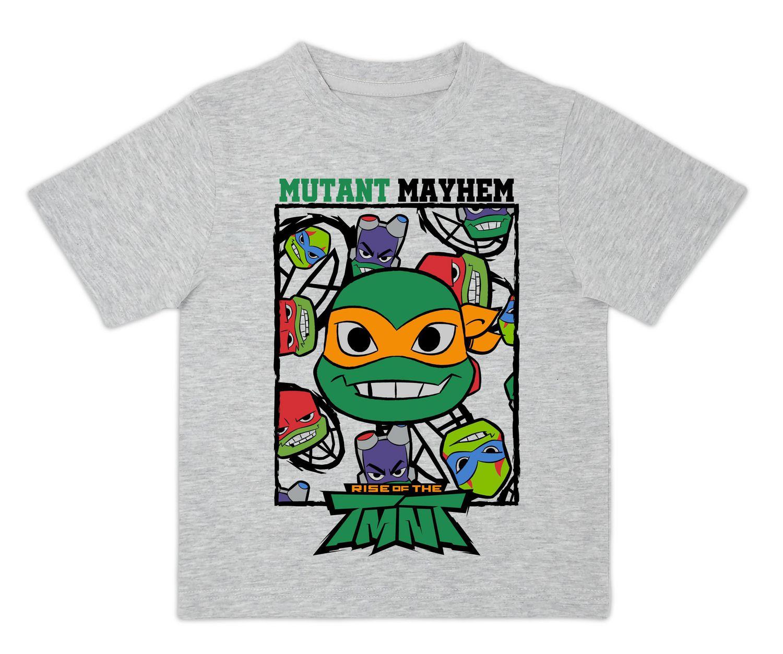 New TEENAGE MUTANT NINJA TURTLES Boy/'s Shirt Size 10 12 Cotton Short Sleeve Tee