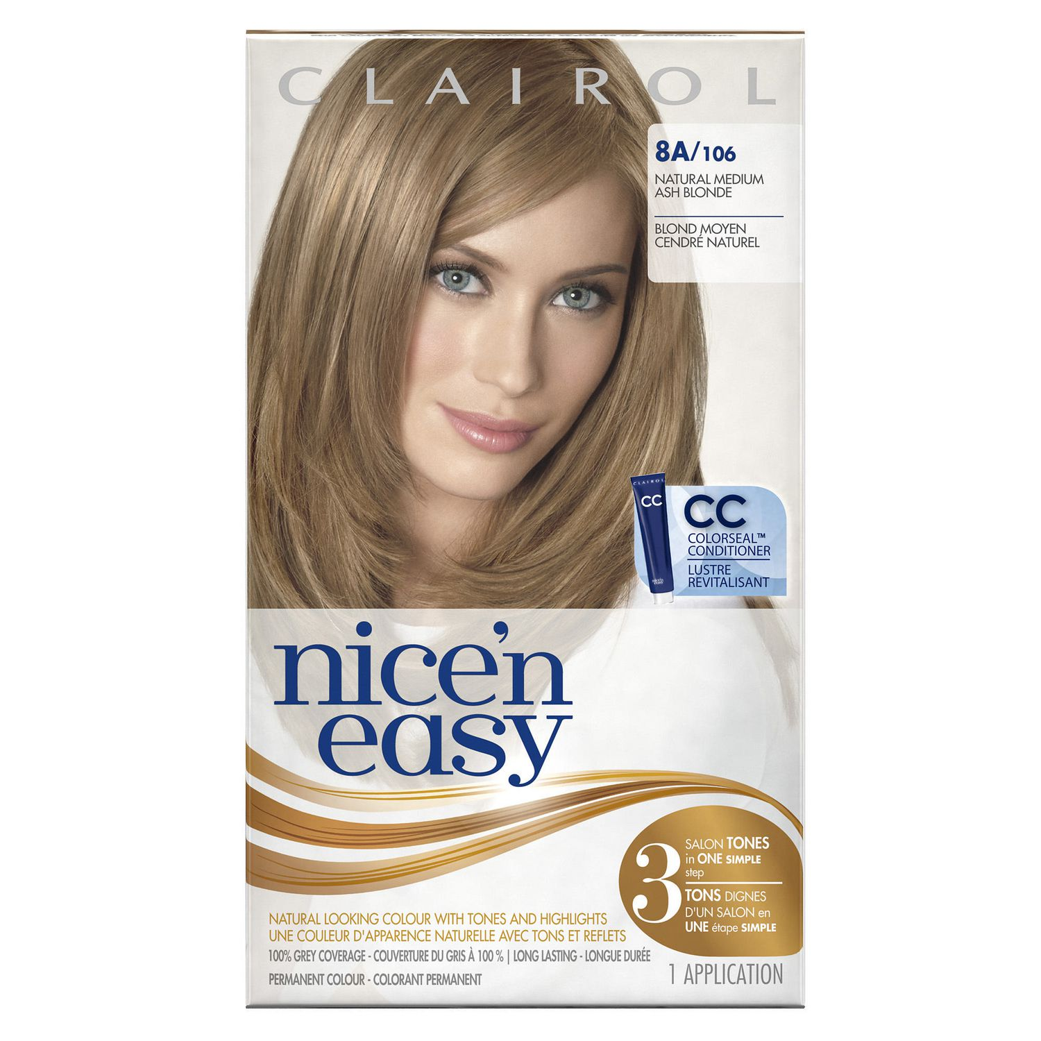 Clairol Nicen Easy Hair Colour 1 Kit Walmart Canada