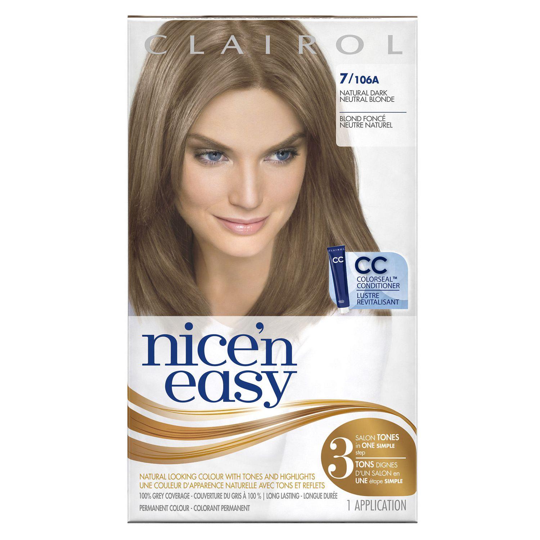Clairol Nicen Easy Hair Colour 1 Kit Walmart Canada
