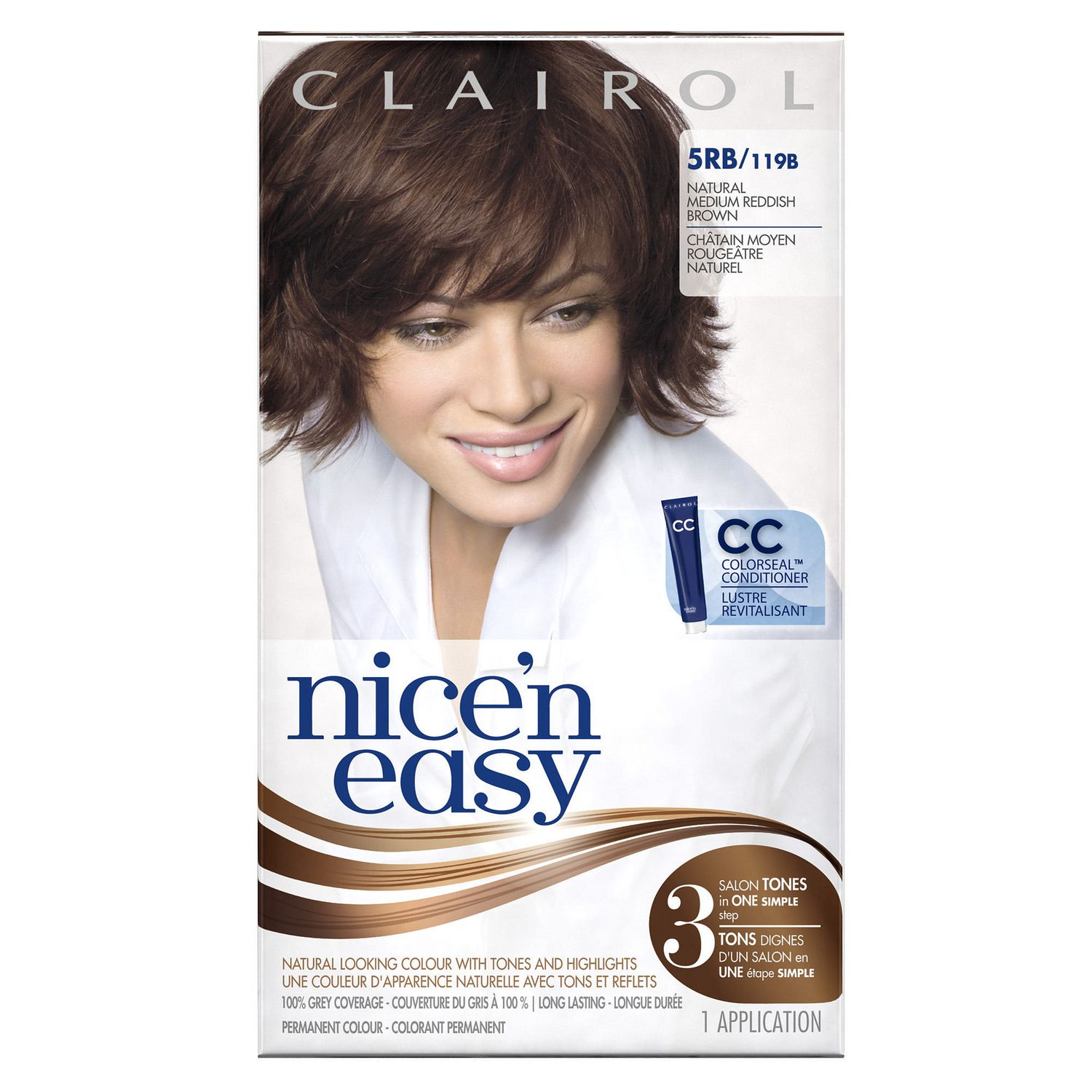 clairol nicen easy hair colour 1 kit walmartca - Clairol Nice And Easy Colors