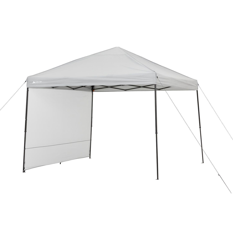 Ozark Trail 10u0027x10u0027 Gazebo with Sunwall  sc 1 st  Walmart Canada & 10 Adjustable ShadeLogic Quick Clamp Canopy Tilt Mount | Walmart ...