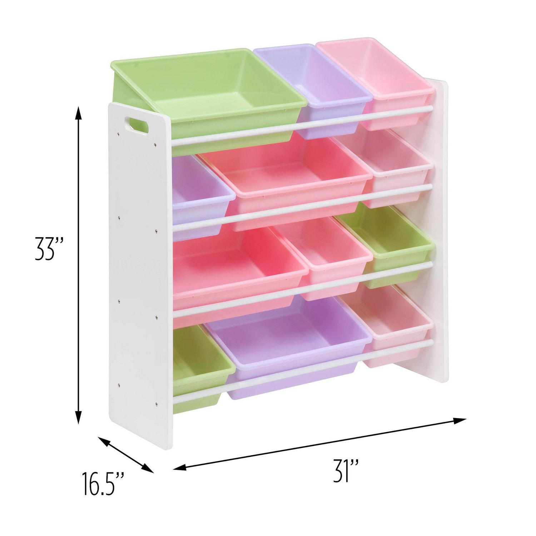 honey can do 12 bins kids storage organizer walmart canada. Black Bedroom Furniture Sets. Home Design Ideas