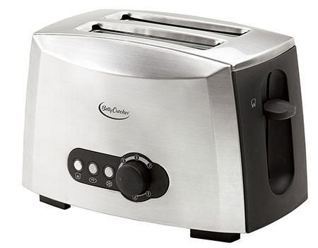 Betty Crocker 2-Slice Multi-Function Stainless Steel Toaster ...   {Toaster 78}