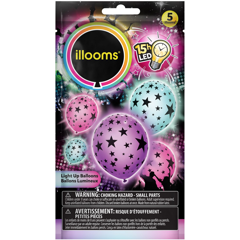 Illooms Mixed Stars Led Light Up Balloons Walmart Canada