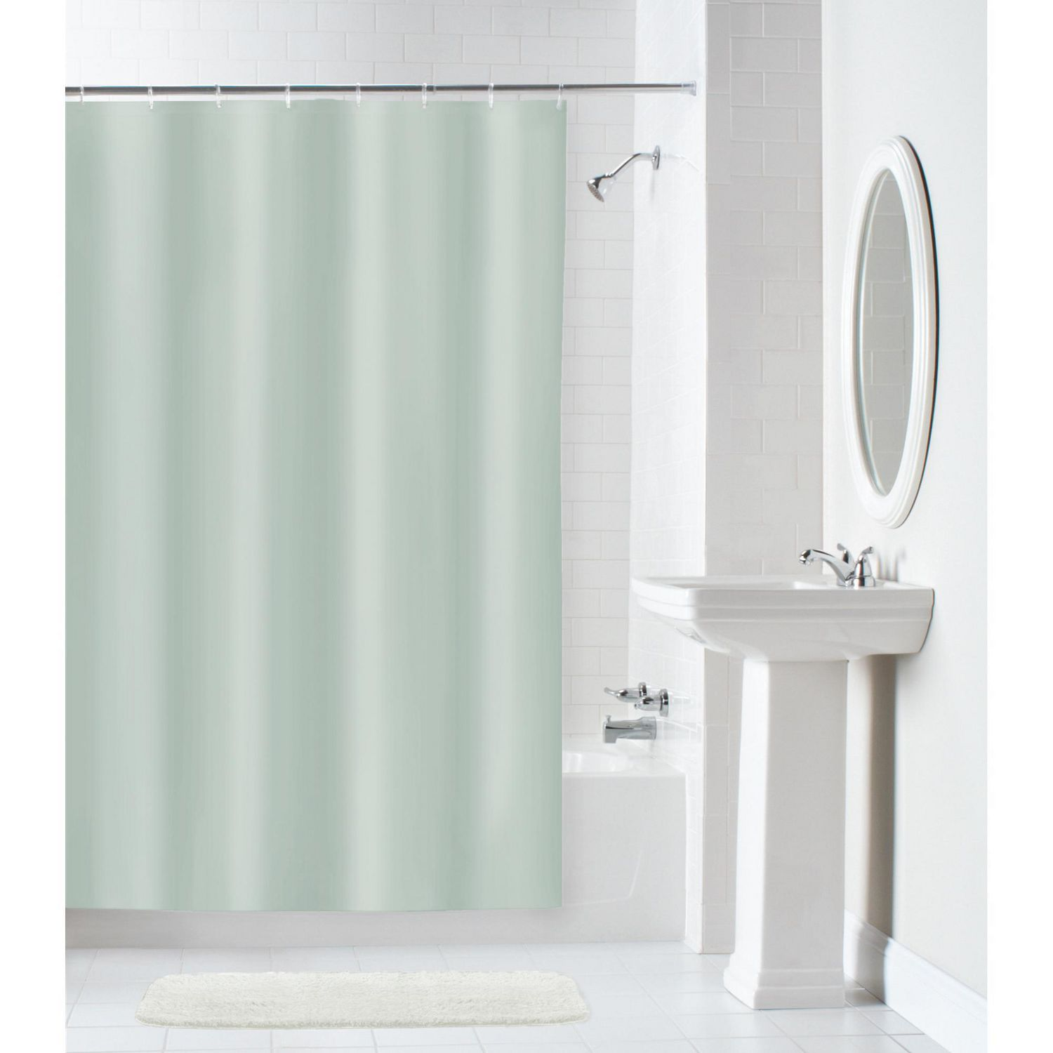100 Percent Waterproof Fabric Shower Curtain Or Liner
