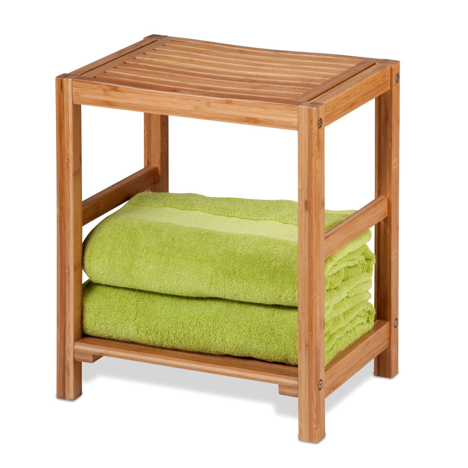 Honey-Can-Do Bamboo Spa Bench | Walmart Canada