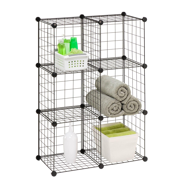 Cubes De Rangement En Maille Modulaire De Honey Can Do 6 Par Paquet Walmart Canada