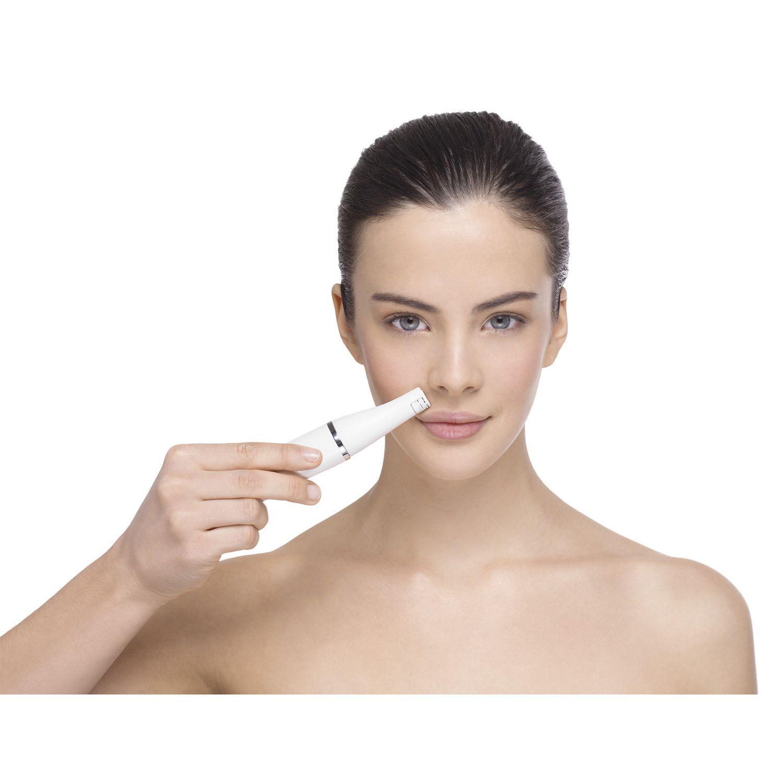 Gentle facial depilitories