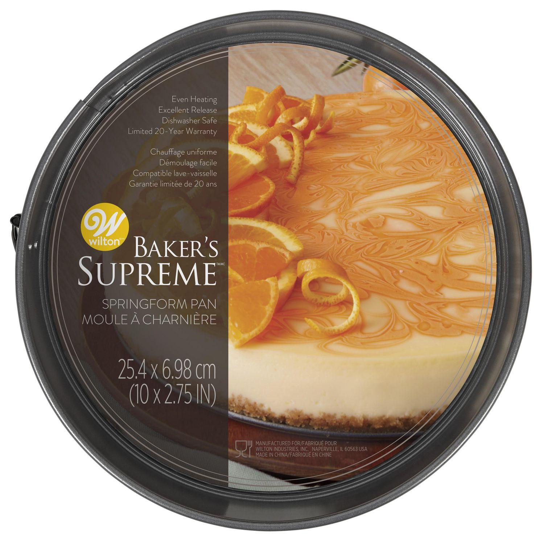 Wilton Baker's Supreme Premium Non-Stick Bakeware Springform Pan