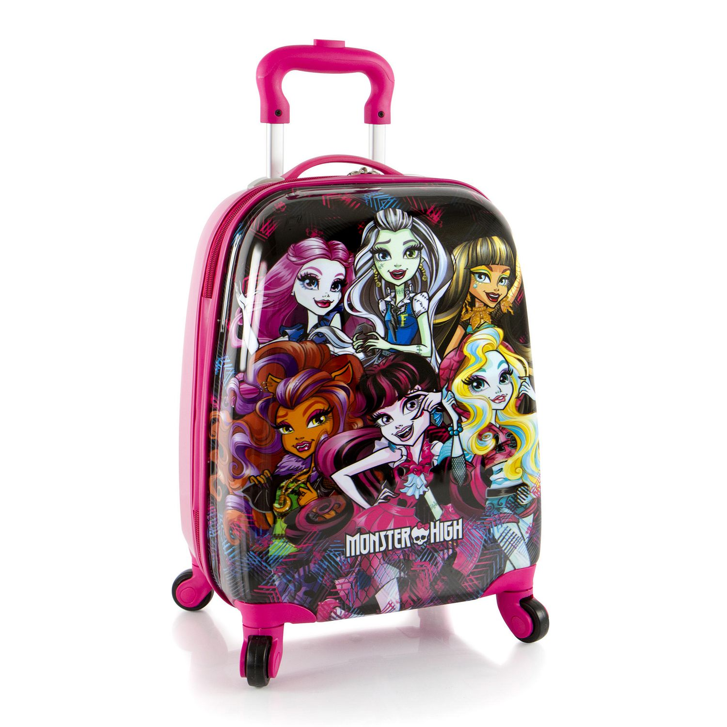 bagages pour enfants spinner monster high de heys