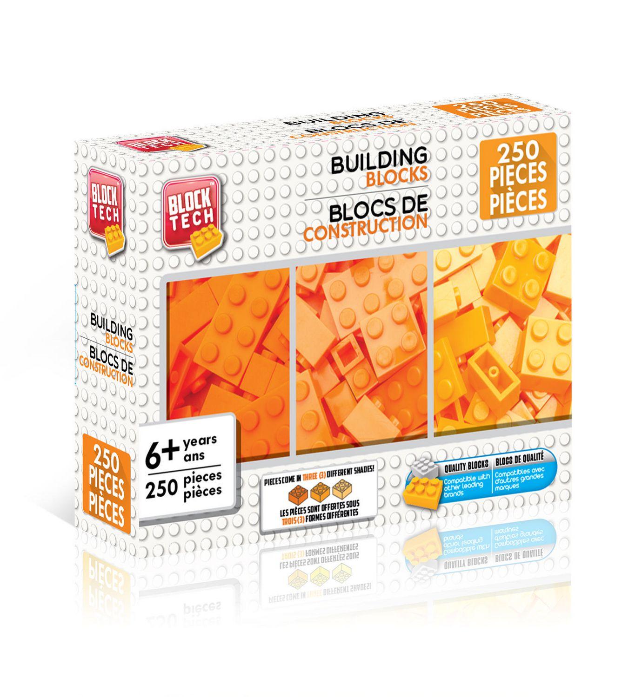 Different Shades Of Orange block tech 3 shades orange building blocks | walmart canada