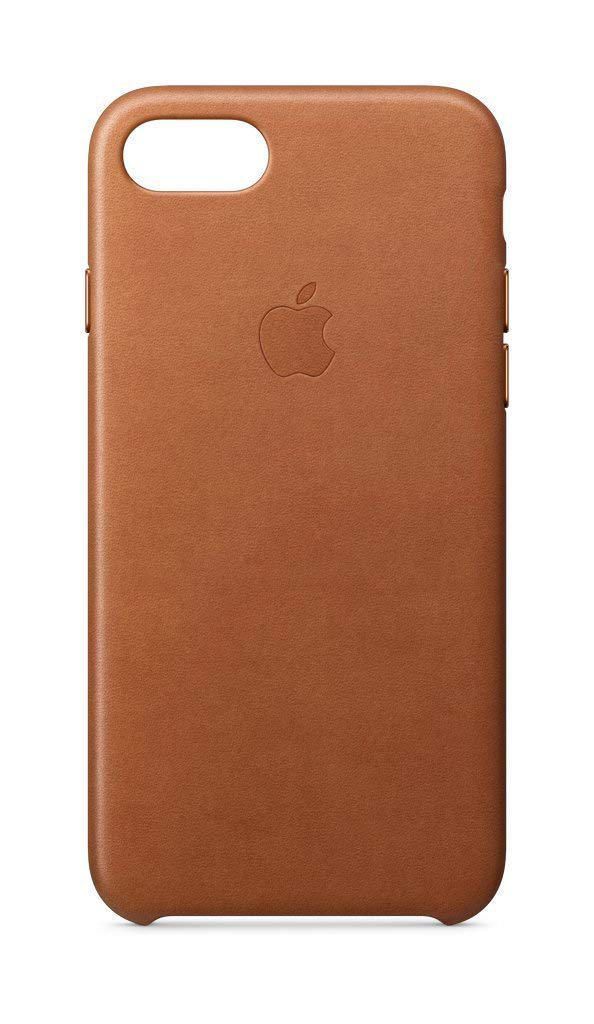 buy popular a473a 47a03 Apple MQTA2ZM/A Leather Case for iPhone X - Saddle Brown
