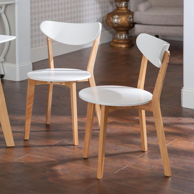 Salle A Manger Retro manor park chaises de salle à manger rétro moderne en bois