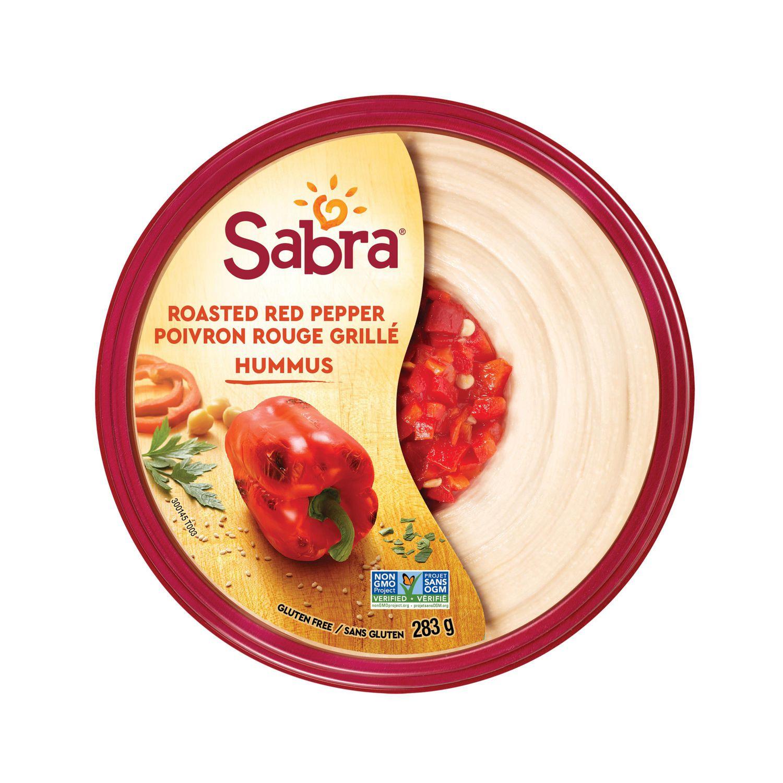 Sabra Roasted Red Pepper Hummus Walmart Canada