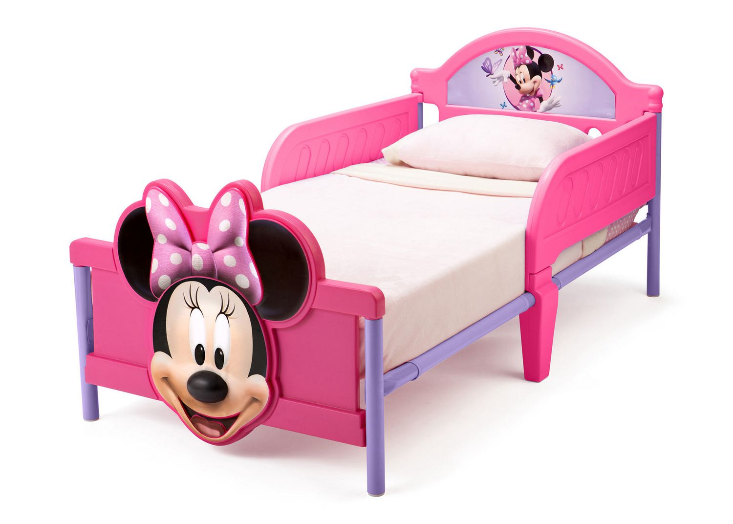 kids en minnie walmart toddler ip disney bed mickey beds canada mouse