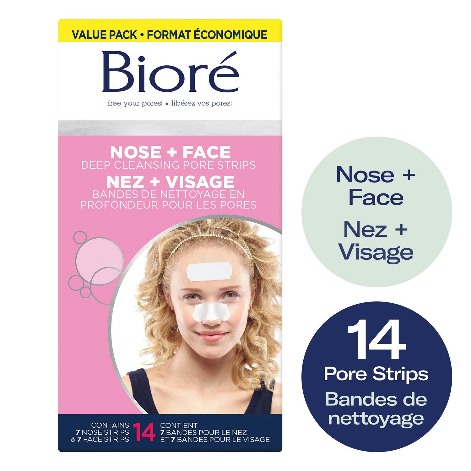 nose strips biore