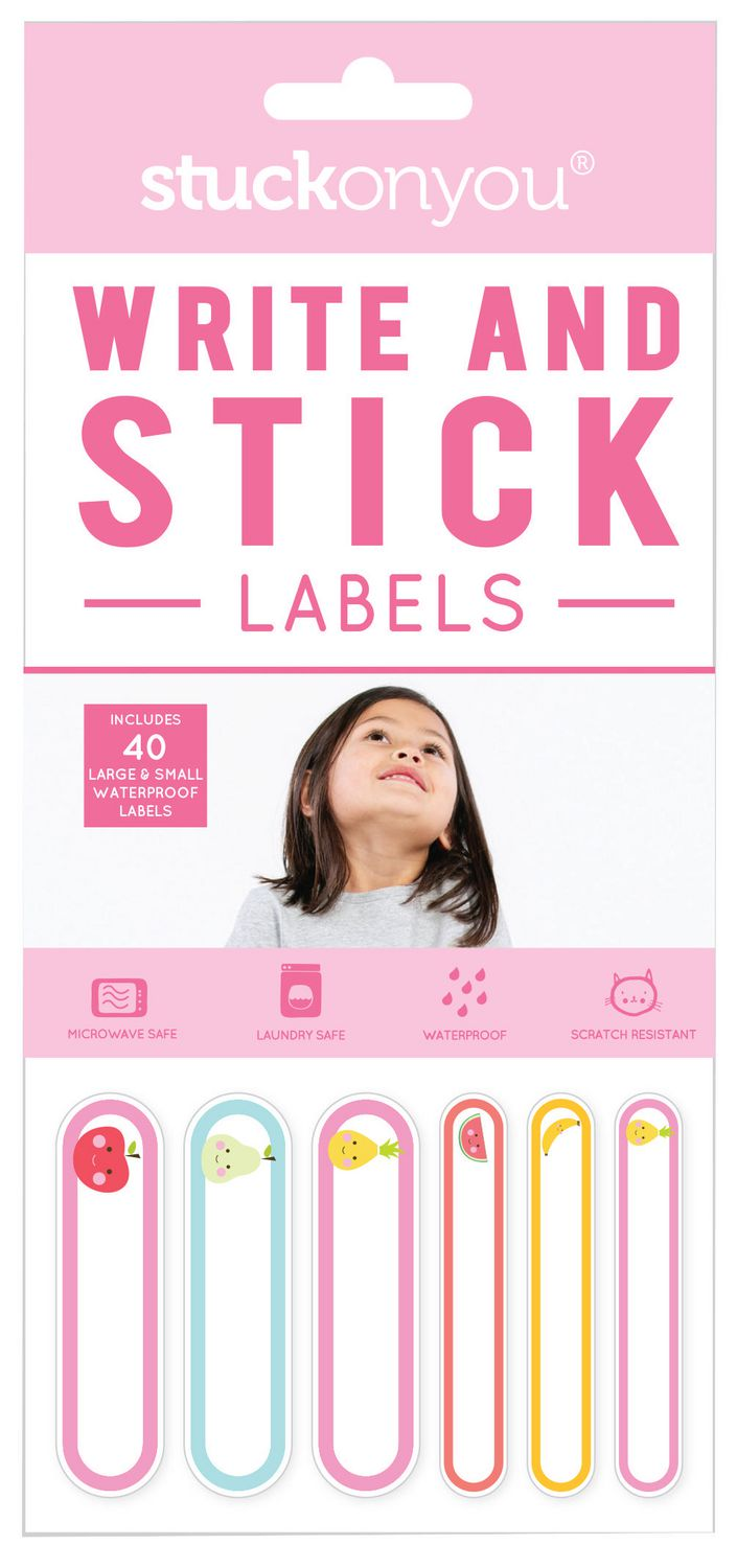 Stuck On You Write And Stick Labels   Walmart Canada