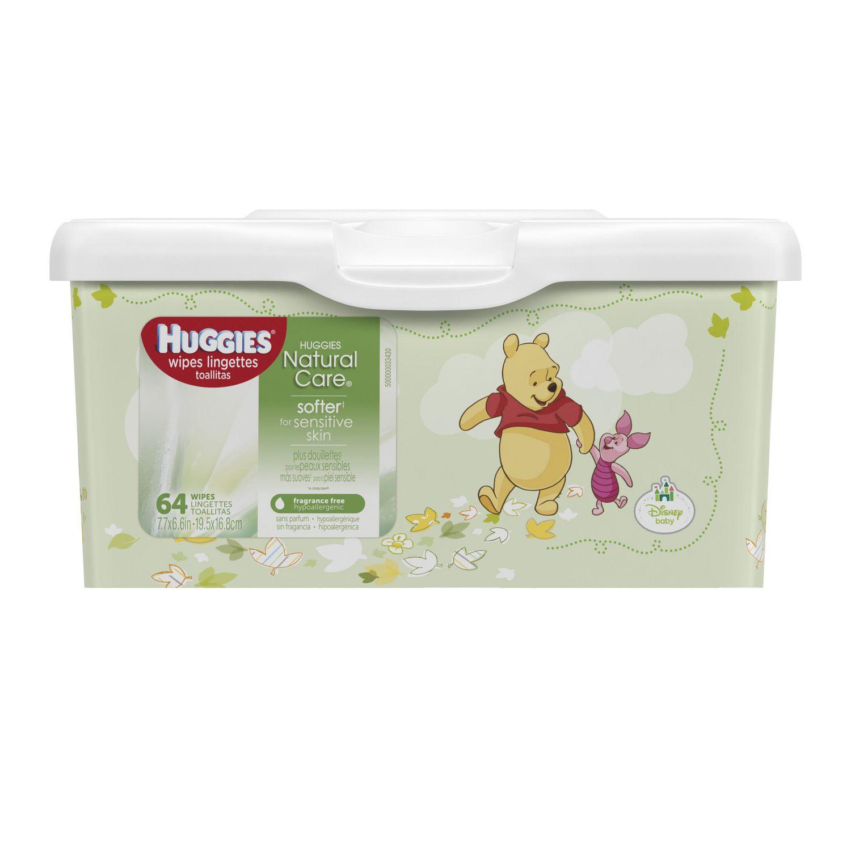 Boîte de lingettes pour bébé