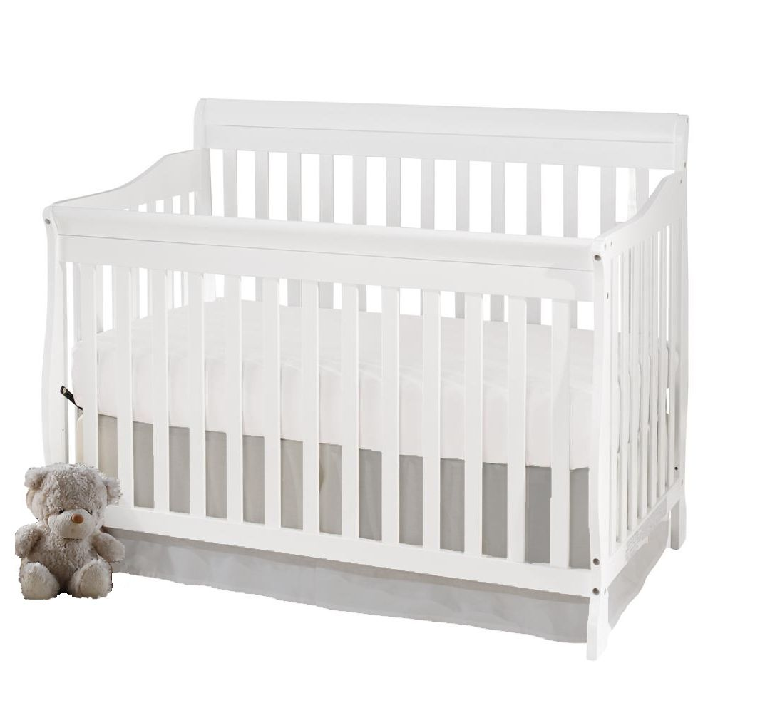 Concord Baby Carson 4 in 1 White Convertible Crib  sc 1 st  Walmart Canada & Baby Cribs - Furniture u0026 Mattresses for Infants | Walmart Canada