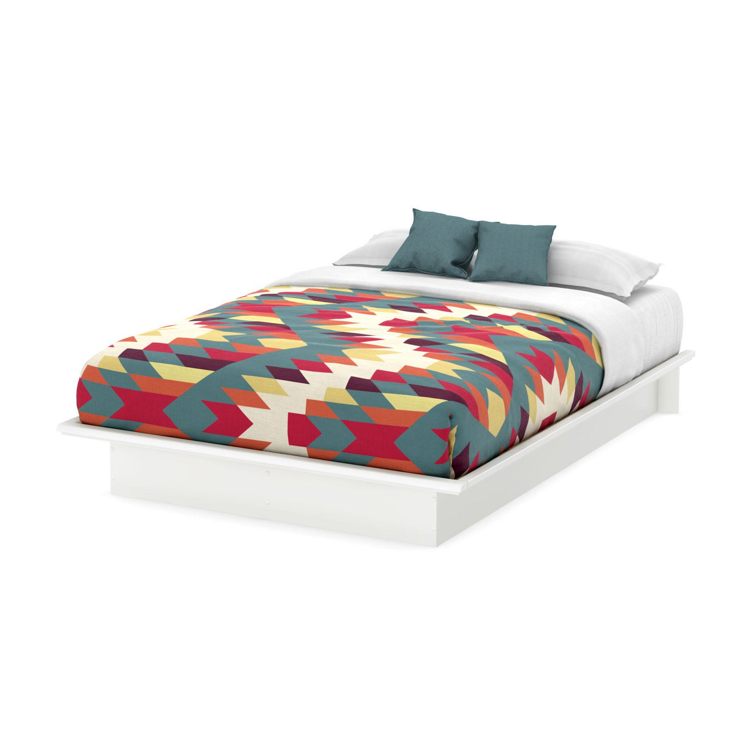 South Shore Bedroom Furniture South Shore Soho Collection Queen Platform Bed Walmartca