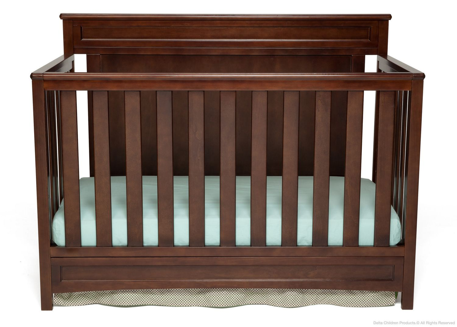 Baby bed at walmart - Delta Princeton 4 In 1 Convertible Crib Espresso