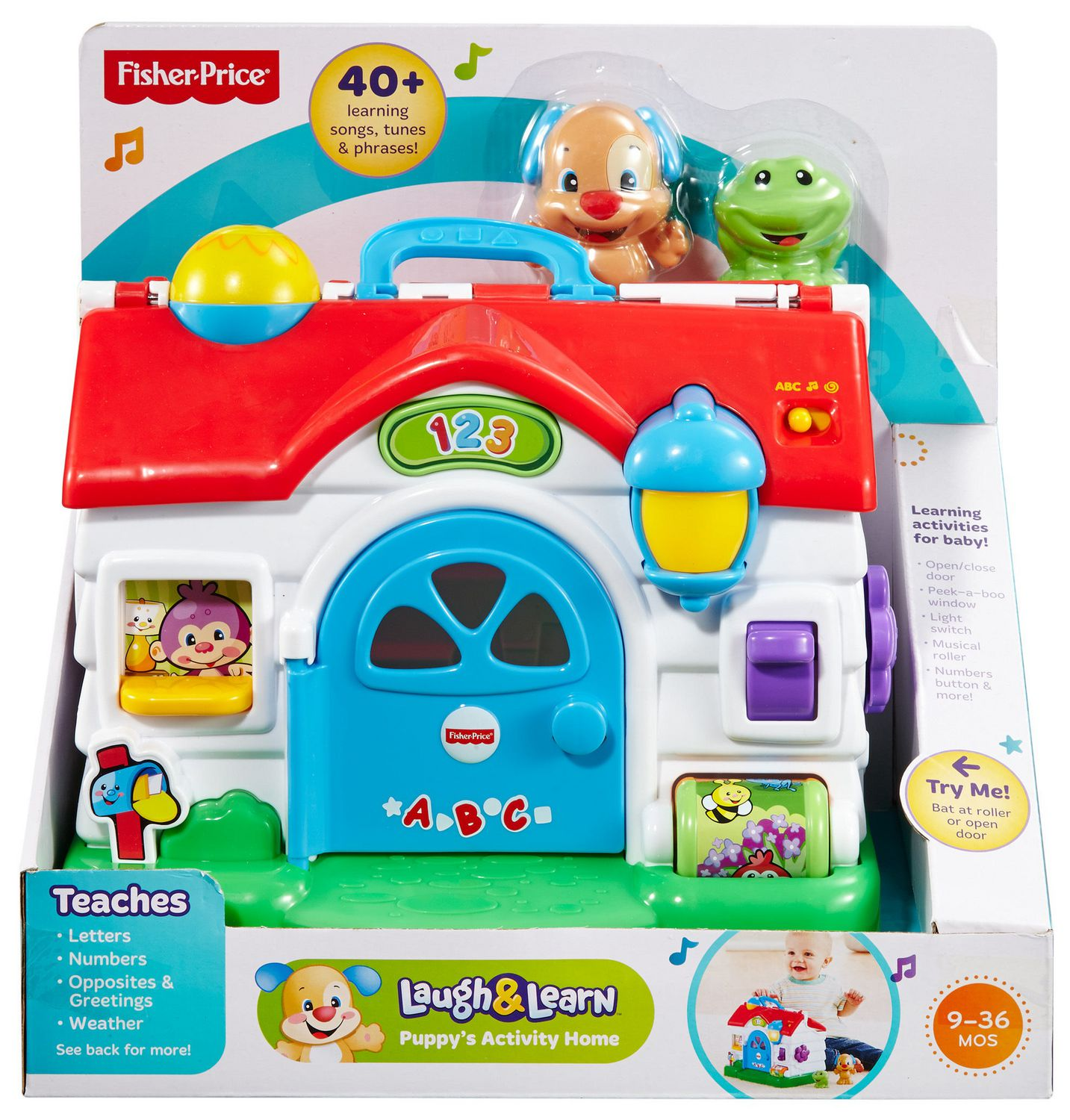 Fisher Price Laugh & Learn Puppy s Activity Home English Edition
