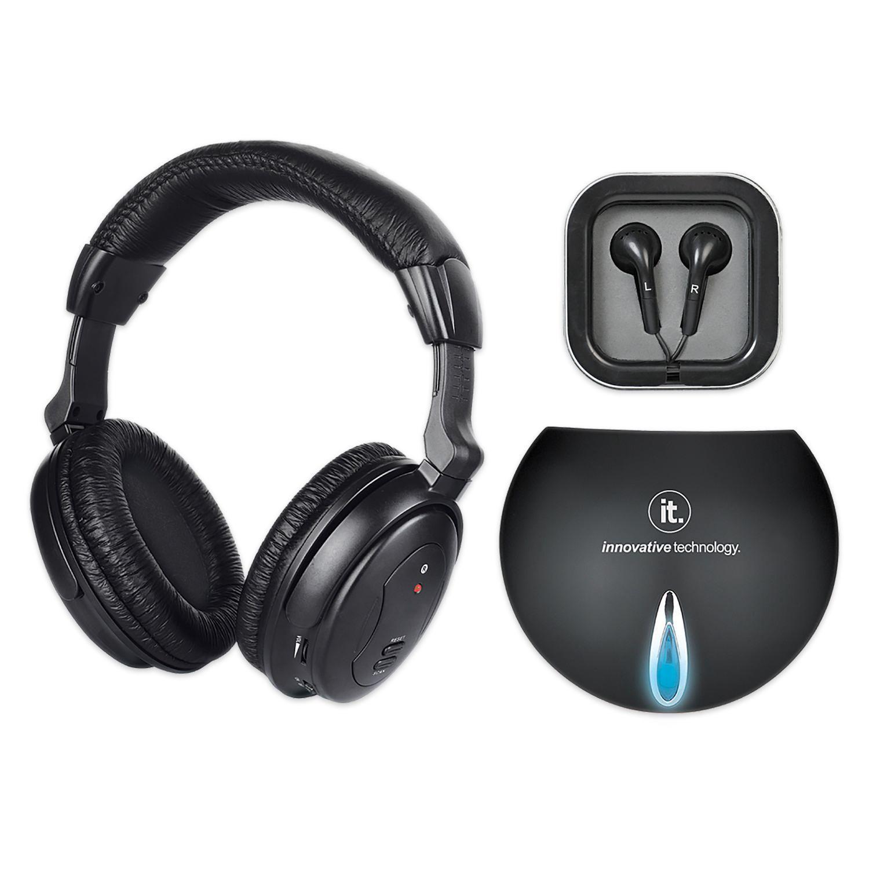 Innovative Technology Wireless Headphones With Tv Transmitter Walmart Canada