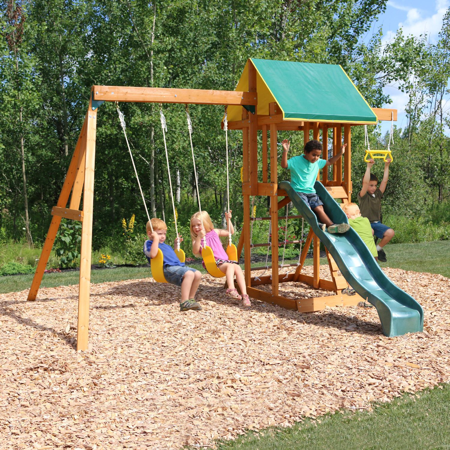 Big Backyard Meadowvale II Wooden Play Set F