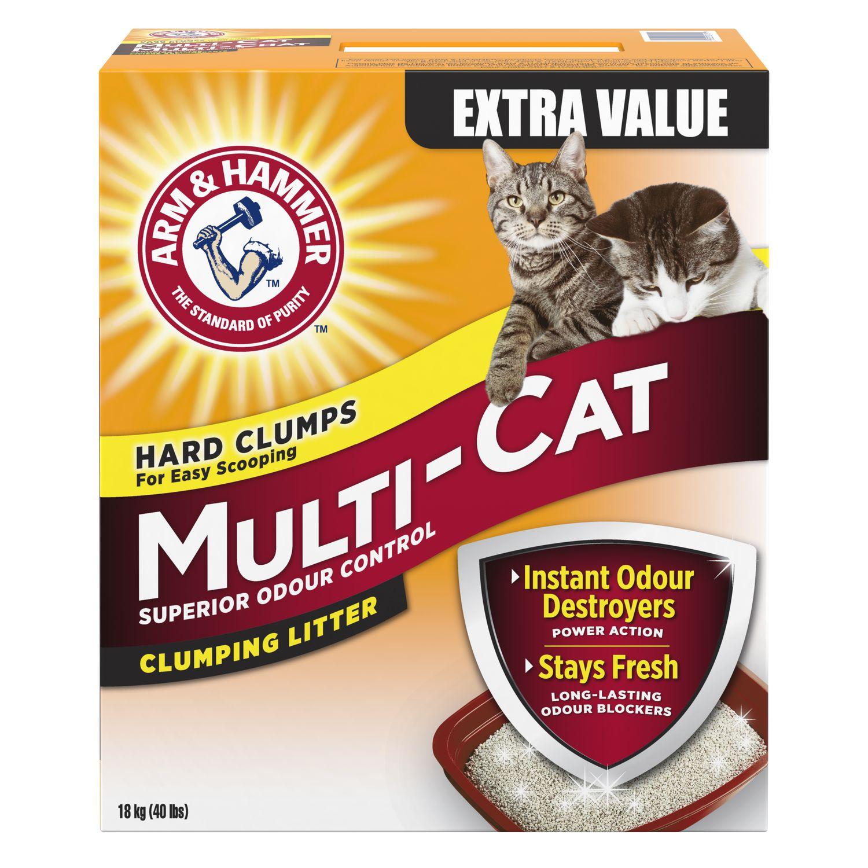 Arm Amp Hammer Multi Cat Strength Clumping Cat Litter