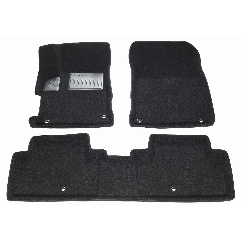 FINDWAY 2014-2017 Acura Ilx (01060BB) Black 3D Floor Mats