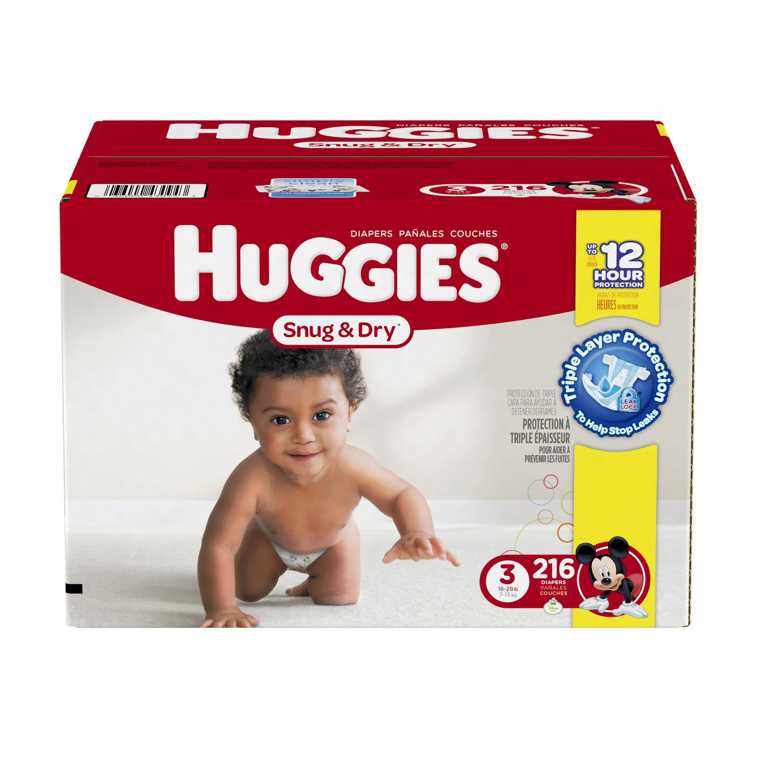 Huggies Snug & Dry Diapers Economy Plus | Walmart.ca