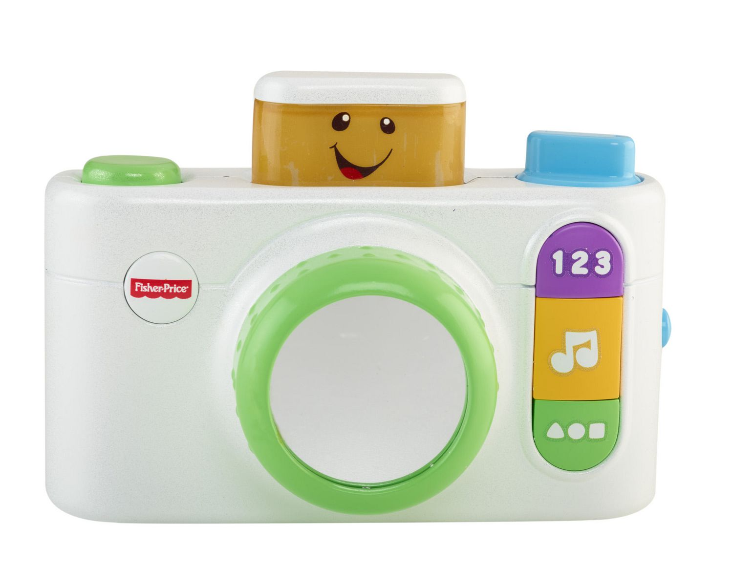 White Fisher-Price Laugh /& Learn Click n Learn Camera Toy