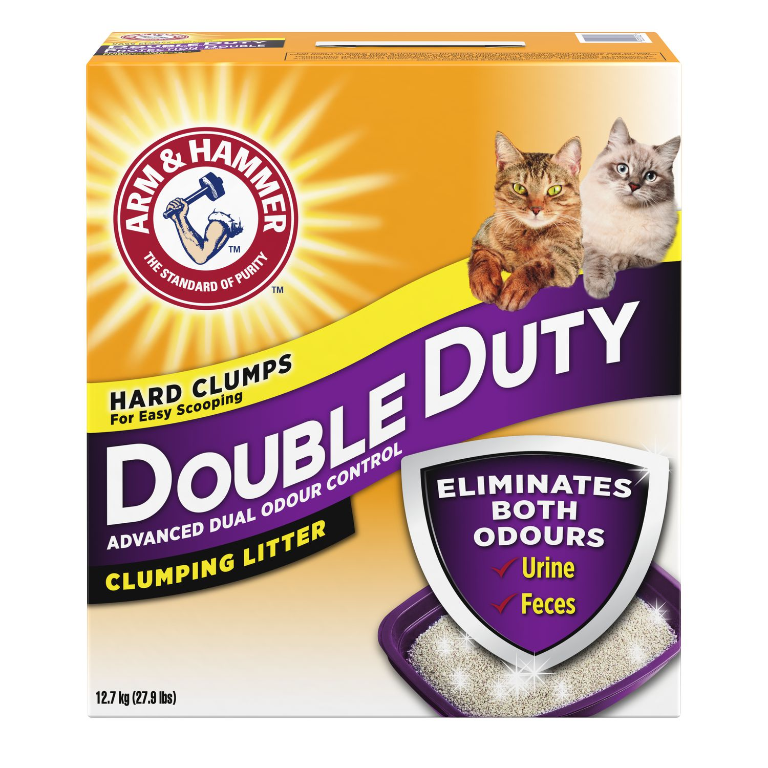 Arm Amp Hammer Double Duty Advanced Odour Control Clumping
