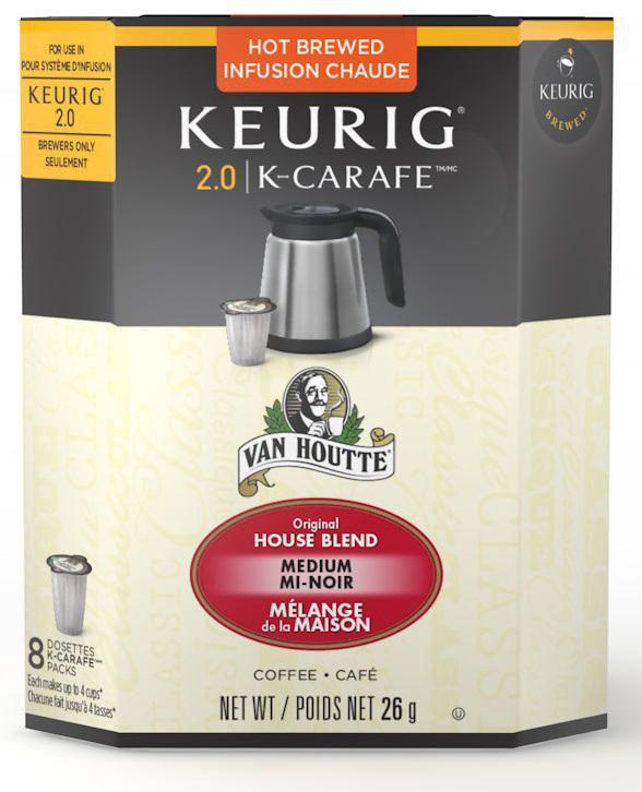 van houtte house blend medium roast k20 k carafe coffee walmart canada